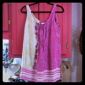 CAbi Cosmo Silk Tunic